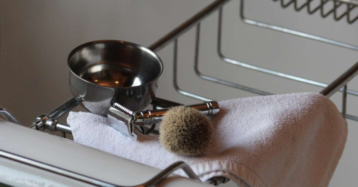 Shaving set bath for Mens bath set