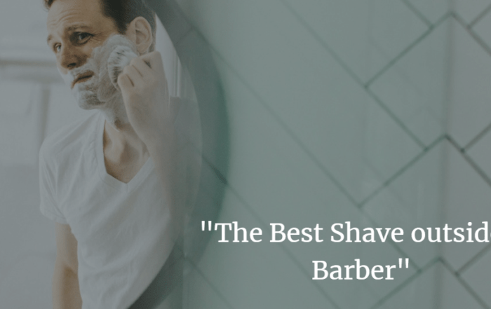 the best shave outside a barbers image